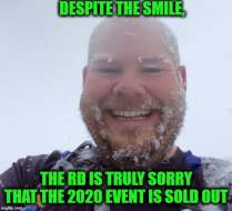 (SOLD OUT !) 2020 PHUNT 25K/50K TRAIL RACE