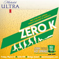First Ever First Annual World's Shortest St. Patrick's Zero K Sponsored by Michelob Ultra