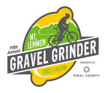 Mt Lemmon Gravel Grinder p/b Pinal County Logo