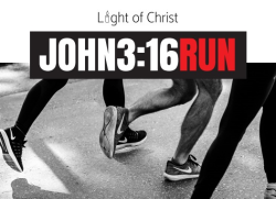 Light of Christ John 3:16 Run