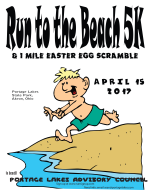 Run to the Beach 5k Run/Walk and 1-Mile Easter Egg Scramble