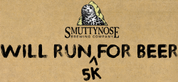 Smuttynose Will Run For Beer 5K 2019
