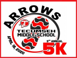 Tecumseh Middle School Arrows 5k - RACE CANCELLED for 2020!