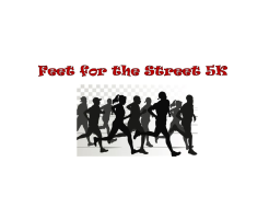Feet for the Street 5K