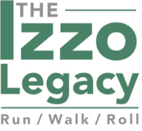 The Izzo Legacy Run/Walk/Roll Logo