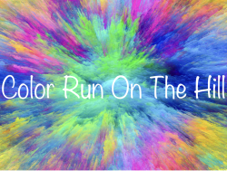 Color Run On The Hill