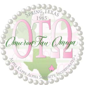 Omicron Tau Omega Chapter of AKA