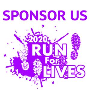 Sponsor Run for Lives 2020