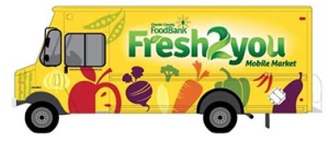 Fresh 2 You Mobile Market by Chester County Food Bank