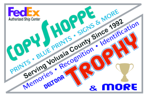 Copy Shoppe and Deltona Trophy
