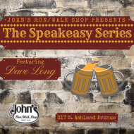 John's Run/Walk Shop Speakeasy Series- Dave Long