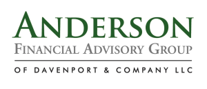 Anderson Financial advisory Group of Davenport & Company LLC