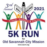 Friends, Students & Athletes 5k Virtual Run for Old Savannah City Mission