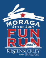 2018 Moraga 4th of July Fun Run