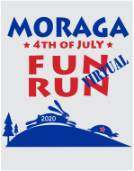 2020 Moraga 4th of July Virtual Fun Run