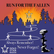 Gold Star Mission Virtual Run for the Fallen