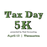 Tax Day 5K presented by Heal Accounting
