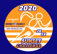 2nd Annual Rooney Family Screen Printing SUNset Challenge 5K Kids 2K and Family Challenge