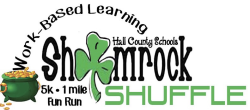 Hall County Work-Based Learning Shamrock Shuffle 5K