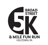 Broad Street Hilltown 5K Race and 1 Mile Fun Run