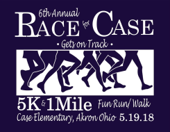 "6th Annual Race for Case 5k & 1 Mile Fun Run ""Gets on Track"""