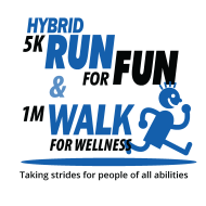 HYBRID 5K Run for Fun / 1M Walk for Wellness - in person at CP Rochester