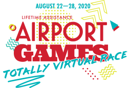 Lifetime Assistance Airport Games Totally Virtual Race