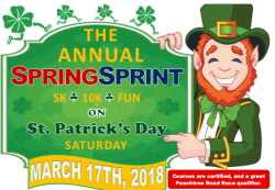 Lake Spivey/Clayton County Rotary Club & City of Jonesboro Spring Sprint 5K & 10K
