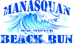 Manasquan Beach Fun Run/Walk & Party February 19th, 2022 (Two Miles)