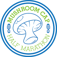 The Virtual Mushroom Cap Half Marathon, 10K and 5K