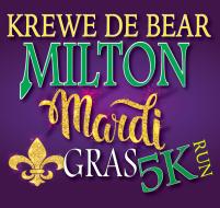 Krewe De Bear Milton Mardi Gras 5K