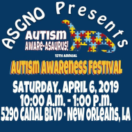 Autism Society of Greater New Orleans 15th Annual Autism Awareness Festival