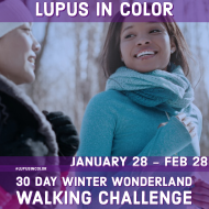 30 Day Winter Wonderland Walking Challenge