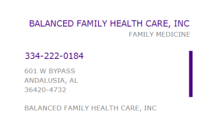 Balanced Family Healthcare
