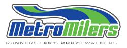Metro Milers Annual Membership