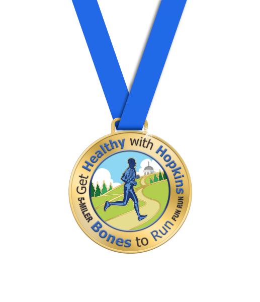 Get Healthy with Hopkins - Bones to Run 5-Miler and Fun Run/Walk