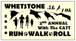 Whetstone 5k Run/Walk/Roll and 10k Challenge Run with The CATT