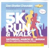 Don Shetler Chevrolet Race to End Leukemia & Lymphoma