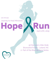 Journey to Heal Ministries Hope Run 5K/1M