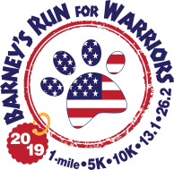 Barney's Run For Warriors