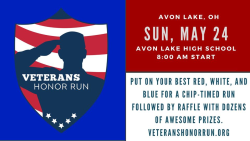 Veterans Honor Run - Event Postponed - New Fall Date TBD