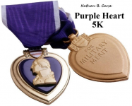 Nathan B. Carse Purple Heart 5K Walk/Run