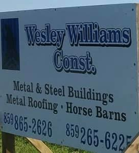 Wesley Williams Construtction