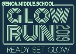 Genoa Middle School Glow Run