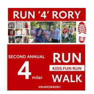 Run 4 Rory 4-Mile Race and Fun Run