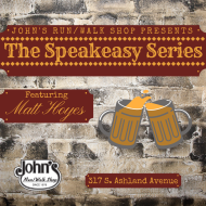 John's Run/Walk Shop Speakeasy Series- Matt Hoyes