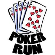 Poker Run 5k race and 1 mile fun run at Durbin Crossing