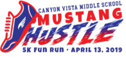Canyon Vista Middle School Mustang Hustle Fitness Run