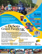 14th Annual De Soto Grand Parade 5K