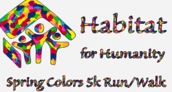 Habitat for Humanity 5k Spring Colors Run/Walk